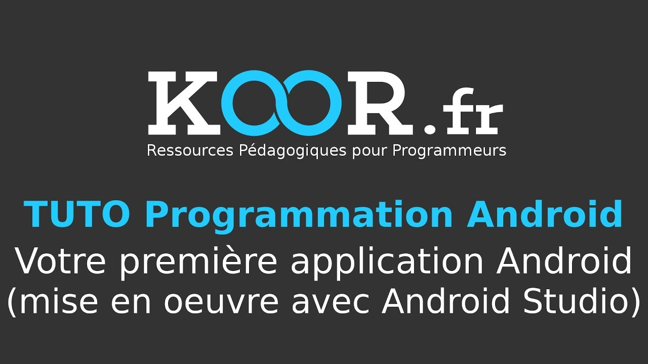 android studio tuto fr