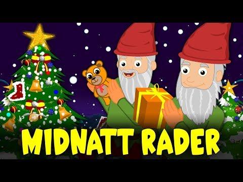 Midnatt råder - Tomtarnas Julnatt | Svenska Julsånger | Julsånger för barn