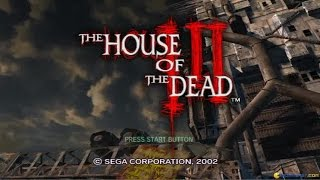 The House of the Dead 3 gameplay (PC Game, 2002)
