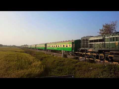 Train is captured beautifully at railway track Rawalpindi Islamabad Video Made by Manzar jamil