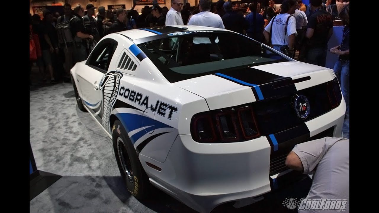 2014 ford mustang cobra jet twin turbo at sema 2012 youtube