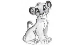 Como desenhar o Simba de