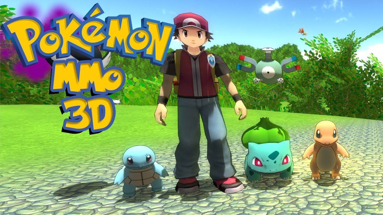 Pokemon mmo 3d new open world pokemon game pokemon - Pokemon 3d download ...
