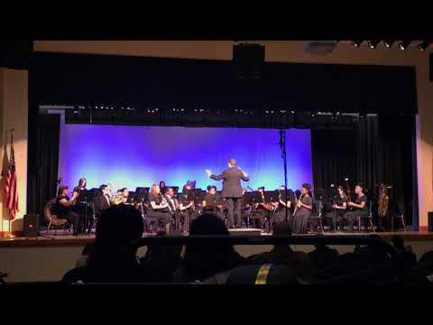 Andrew, Symphonic band MPA at Fernandina Beach Middle School