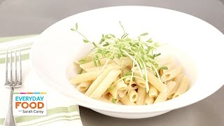 Creamy Roasted Garlic Penne - Everyday Food with Sarah Carey