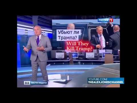 WILL TRUMP BE ASSASSINATED? PUTIN AND RUSSIAN TV WARNS!!!