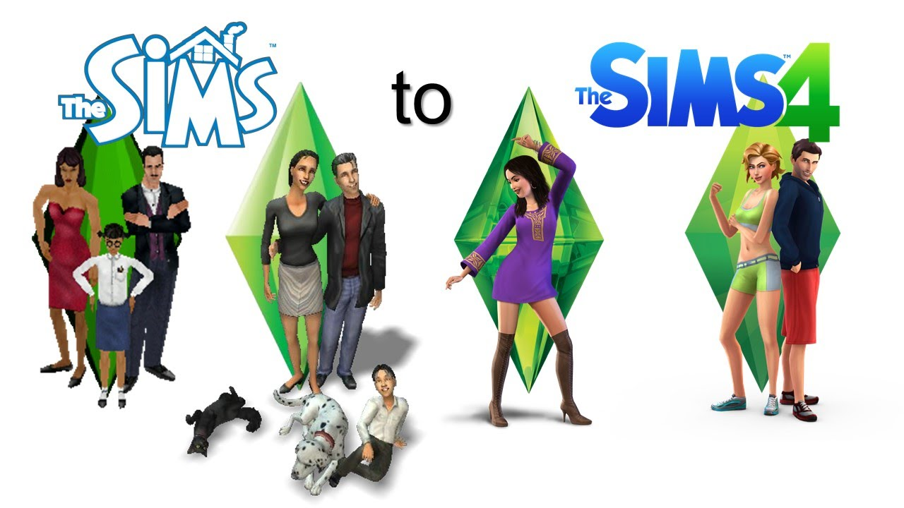 the sims trailers   from the sims 1 to the sims 4   youtube