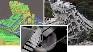 Earthquake Simulation of Christchurch Pyne Gould Building (INACHUS)