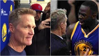 "Steve Kerr pretty much confirms he said he's ""f-ing tired"" of Draymond Green"