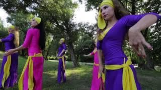 Восточные танцы  Белгород. Балади. Египетский народный танец.