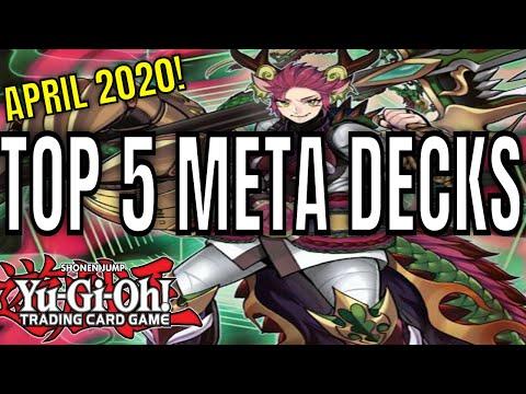 TOP 5 META DECKS APRIL 2020