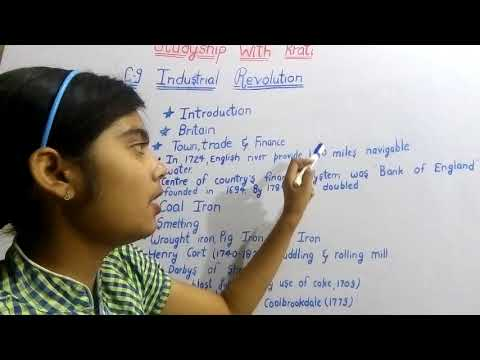 Class 11th History Ncert Ch-9(Part-1)||Industrial Revolution