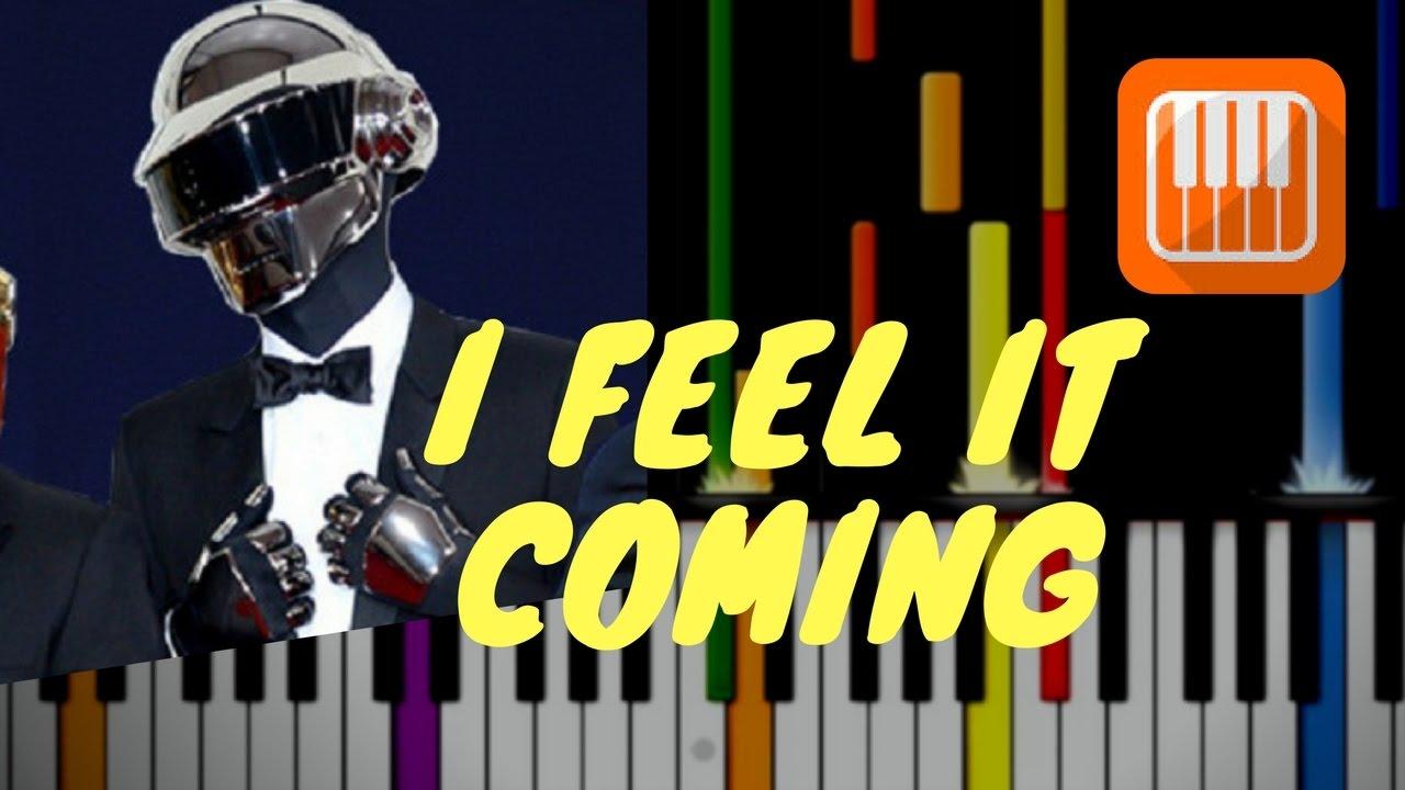 I Feel It Coming / Weeknd ft  Daft Punk (MIDI backing track & tutorial)