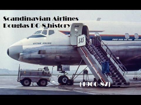 Fleet History - Scandinavian Airlines Douglas DC-8 (1960-87)