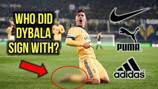 PAULO DYBALA FINALLY SIGNS A NEW BOOT DEAL!