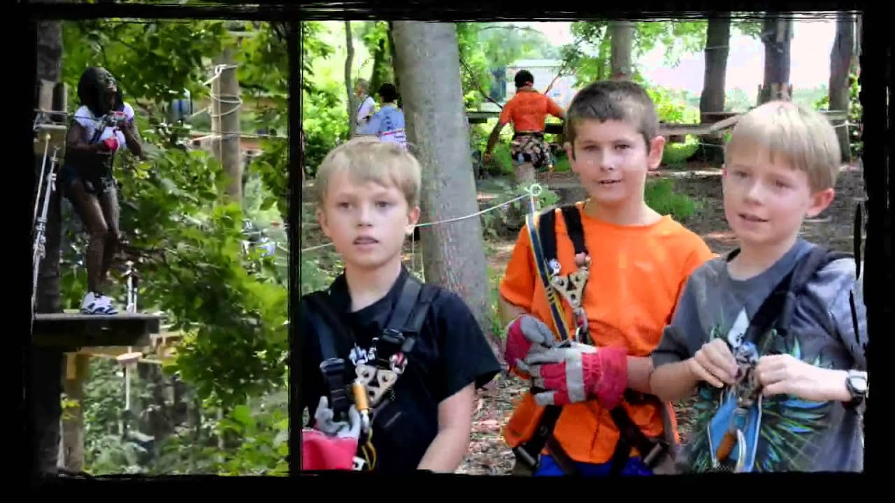 What Is An Adventure Park The Adventure Park At Heritage Youtube