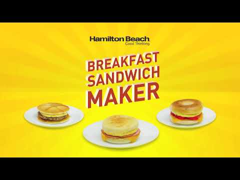 Hamilton Beach Breakfast Sandwich Maker - Teaser (ALT)