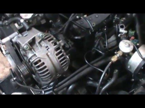Audi A4 1.8t. Replace alternator.