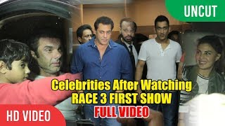 Race 3 Movie Special Show | Salman Khan, M.S Dhoni, Jacqueline | Race 3 Movie Grand Screening