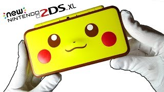New Nintendo 2DS XL Pikachu Edition Unboxing (Special Console)