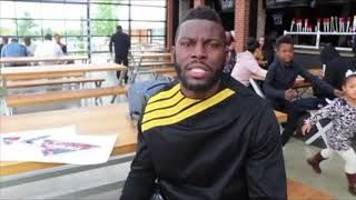 'HEAVYWEIGHT DIVISION NEEDS TYSON FURY I CALLED HIM FAT BOY BUT HE CAN GET IT OFF' -STEVE CUNNINGHAM