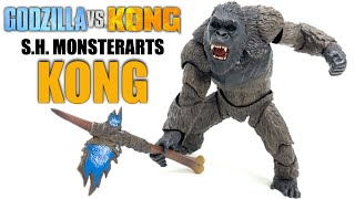 S.H. MonsterArts KONG Godzilla VS Kong 2021 Figure Review