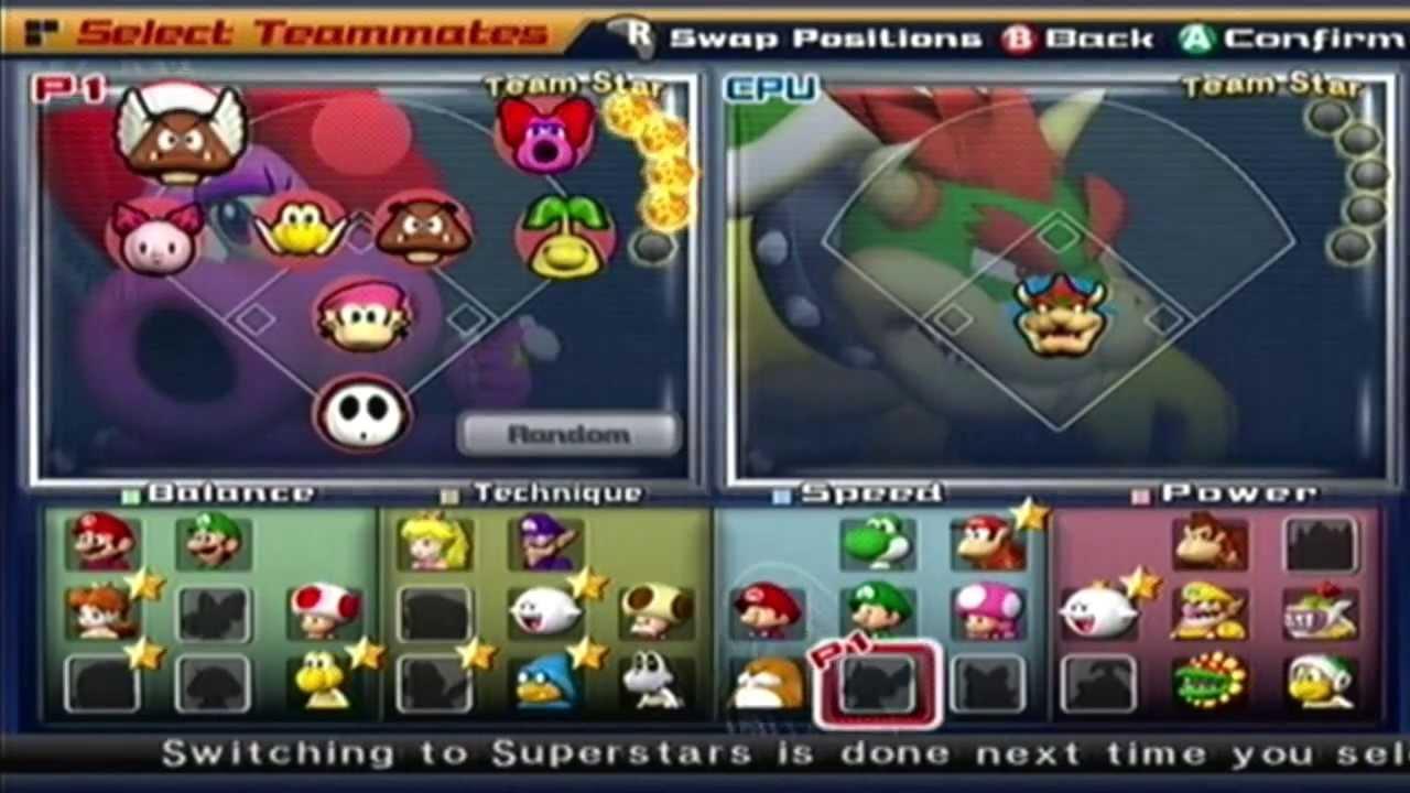 Mario Superstar Baseball - Exhibition Game #5 - Bowser Monsters @ Birdo Beauties - YouTube