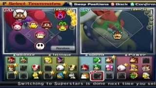 Mario Superstar Baseball - Exhibition Game #5 - Bowser Monsters @ Birdo Beauties