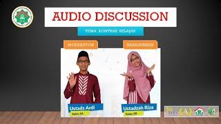 Download Audio Discussion (Kontrak Belajar)