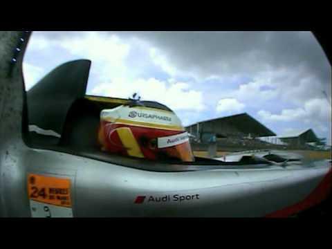 24 Hours of Le Mans 2010 - Last laps onboard Audi # 9