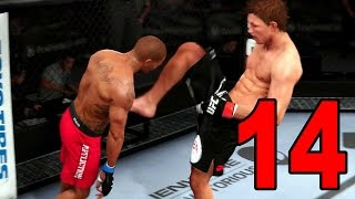 UFC 14 Career Mode - Part 14 - Main Card Chance (EA Sports UFC 2014 Gameplay)
