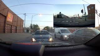 Minor Road Rage - Oblivious Wisconsin Driver Gets Butthurt Over Being Honked At