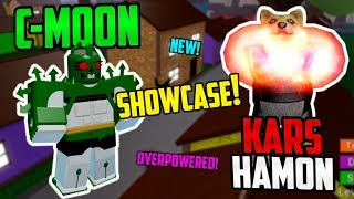 [NEW!] C-Moon & Kars Hamon Showcase in Jojo Blox! ► ROBLOX