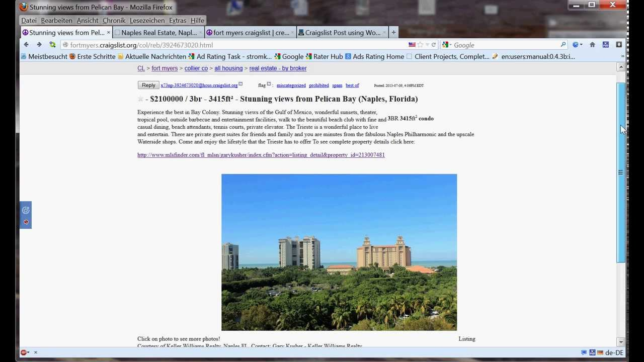 Craigslist Real Estate Ad Templates business apology letter template ...