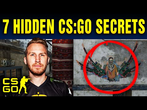 Top 7 Hidden Secrets In Counter-Strike: Global Offensive Maps