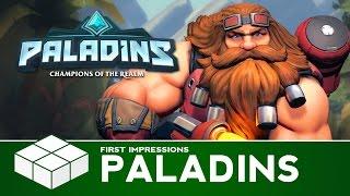 Paladins - Barik Gameplay | PC Gameplay & First Impressions
