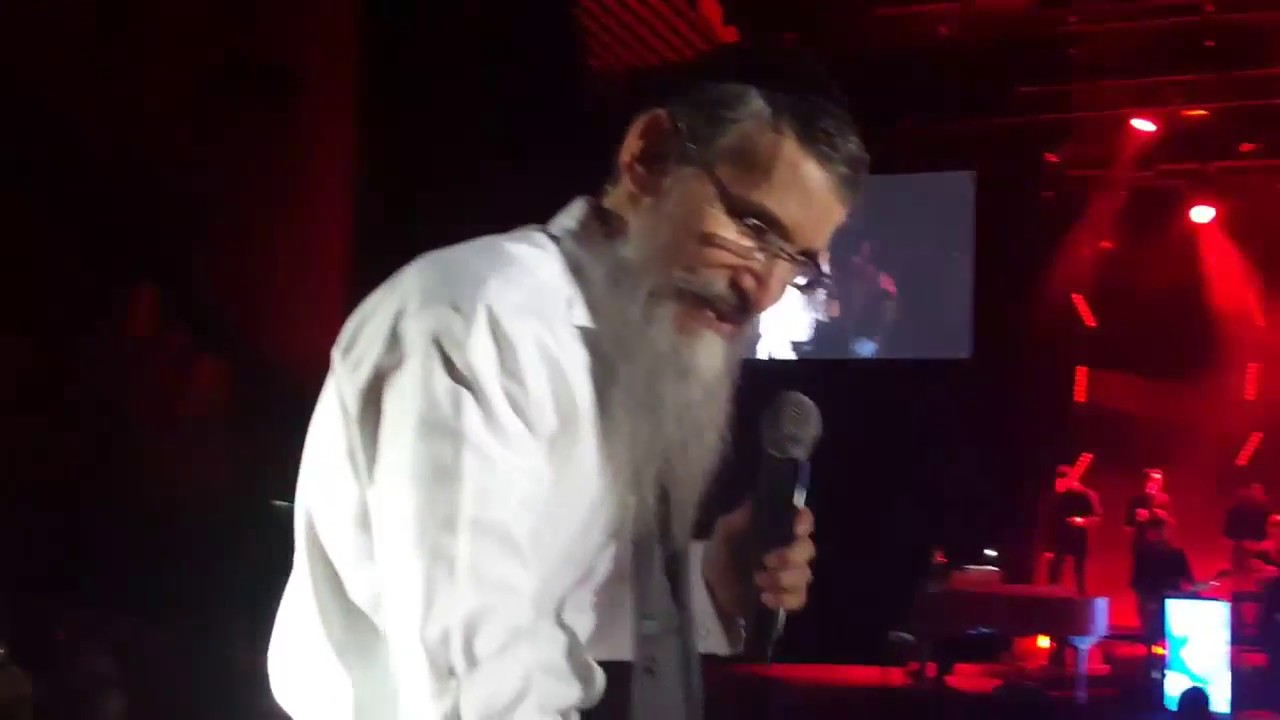 Avraham Fried Concert in Heichal Hatarbut in Tel Aviv