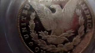 【GMコインストア】1884-CC アメリカ 1ドル銀貨 Morgan Silver Dollar PCGS-MS66 DMPL Key West Collection【コイン紹介】