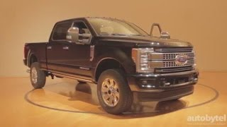 2017 Ford F-250 Super Duty *First Look World Premier* and WalkAround Video Review