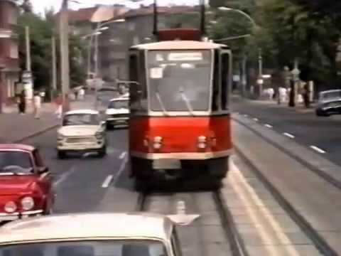 east berlin tram bus rides 1989 youtube. Black Bedroom Furniture Sets. Home Design Ideas