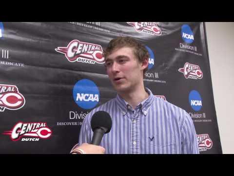 Central Men's Basketball v. BVU Interview: Colby Taylor 2.15.17