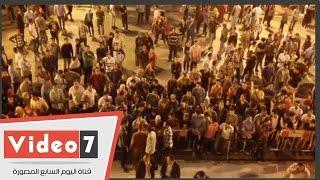 مشادات بين طلاب جامعة القاهرة والأمن الإدارى لدخول حفل آمال ماهر