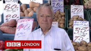 """""""I've been selling spuds for 60 years"""" - BBC London"""