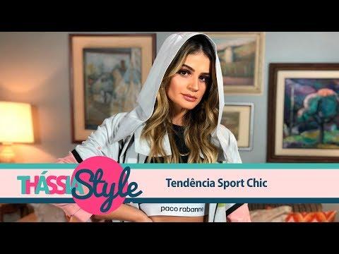 Thássia Style: Tendência Sport Chic
