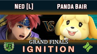 ULTIMATE Ignition #161 GRAND FINALS - Ned [L] (Roy, PT, Lucina) vs Panda Bair (Isabelle, Villager)
