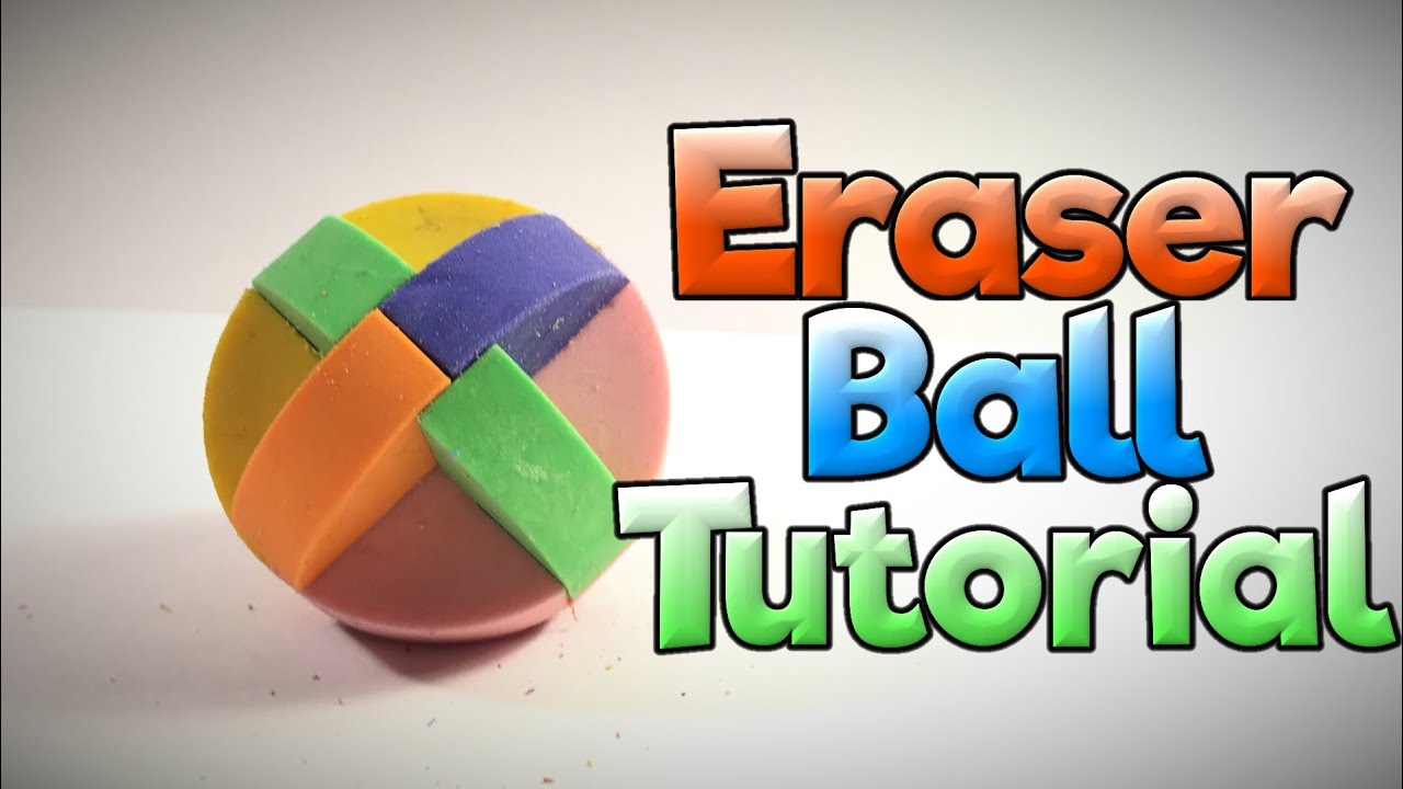 How to Solve the Eraser Puzzle Ball - Puzzle Tutorial
