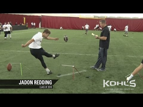 Jadon Redding | #22 Ranked Kicker in America | Class of 2018