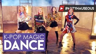 Video BLACKPINK - Playing With Fire x Whistle // K-pop Magic Dance download MP3, 3GP, MP4, WEBM, AVI, FLV Oktober 2017