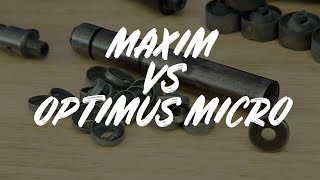 100 Year old Maxim silencer VS Griffin Optimus Micro suppressor