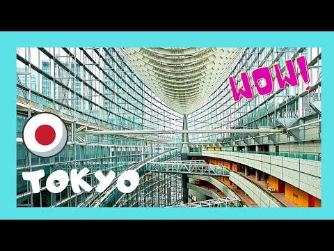 TOKYO: Stunning building looks like a huge ship 🚢, the International Forum (Japan)